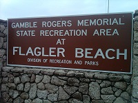 Gamble Rogers recreation area